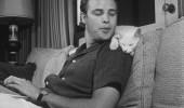 IUBIRE. Marlon s-a declarat intotdeauna un iubitor de animale. Mai ales de pisici!