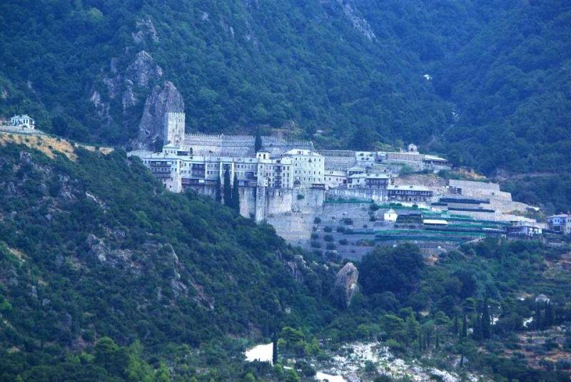 Poza saptamanii vine de la muntele Athos