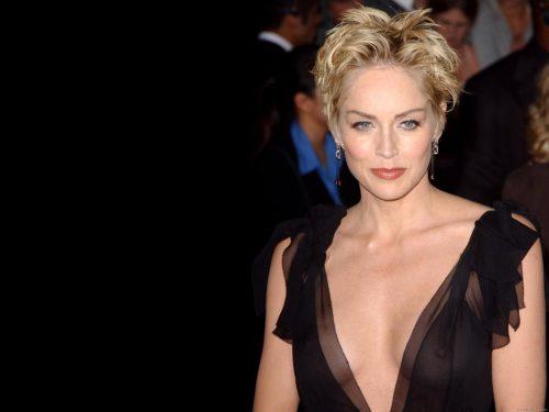 Sharon Stone și-a luat un Pitbull! Actrița vrea să dea un exemplu