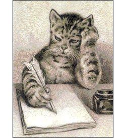 cat_writing