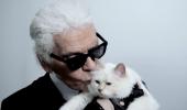 Karl Lagerfeld Choupette Embrace