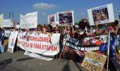 Imagini de la protestul impotriva eutanasierii /