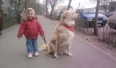 Rolly e cel mai bun prieten al ei! De la el a invatat sa mearga!