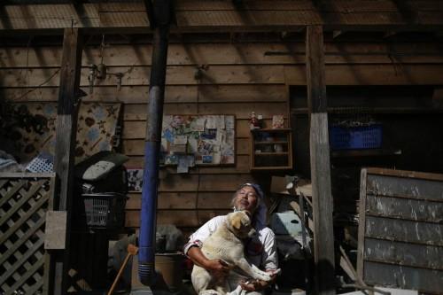 DE VĂZUT! Un fermier a salvat 500 de animale abandonate după dezastrul de la Fukushima