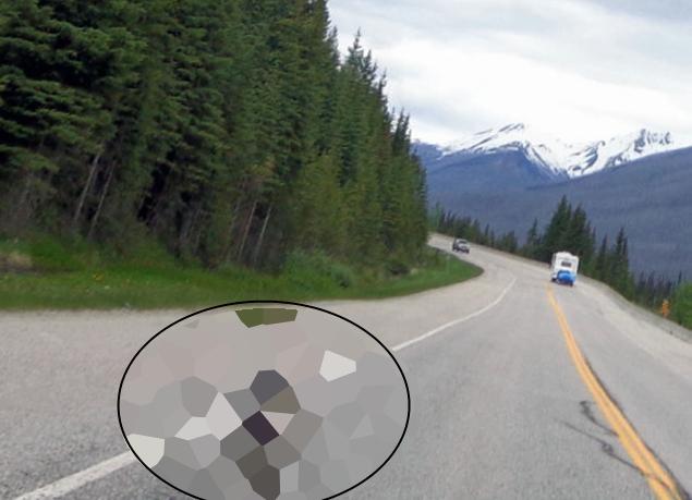 motociclist alergat de ceva ingrozitor
