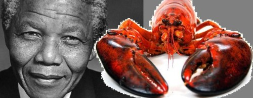 Specie de HOMAR botezată Nelson Mandela