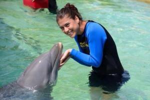 Înaintea turneului de la Miami, Sorana Cîrstea și Ana Ivanovici s-au relaxat în compania DELFINILOR