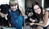"""""""Înainte şi acum!"""" Un set de fotografii IMPRESIONANTE cu animalele şi stăpânii lor, după trecerea timpului"""