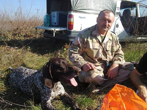 Un LUPTĂTOR SAS s-a aruncat în foc ca să își salveze câinele – GALERIE FOTO