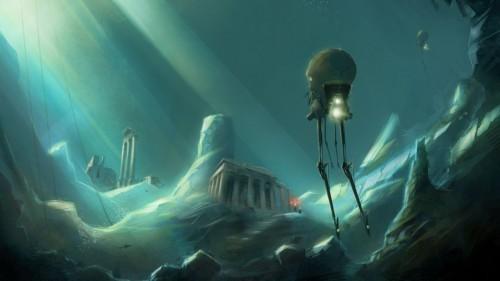 Oraşul pierdut al Atlantidei a fost descoperit după 2.000 de ani, pe uscat, de un specialist IT