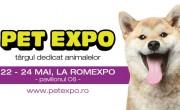 Pet Expo, târgul dedicat animalelor de companie se deschide pe 22 mai