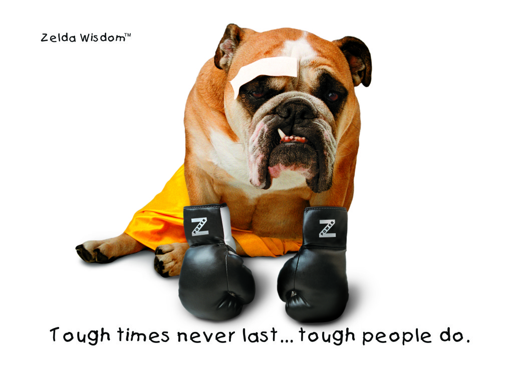 Tough times never last...tough people do.(Blank inside)