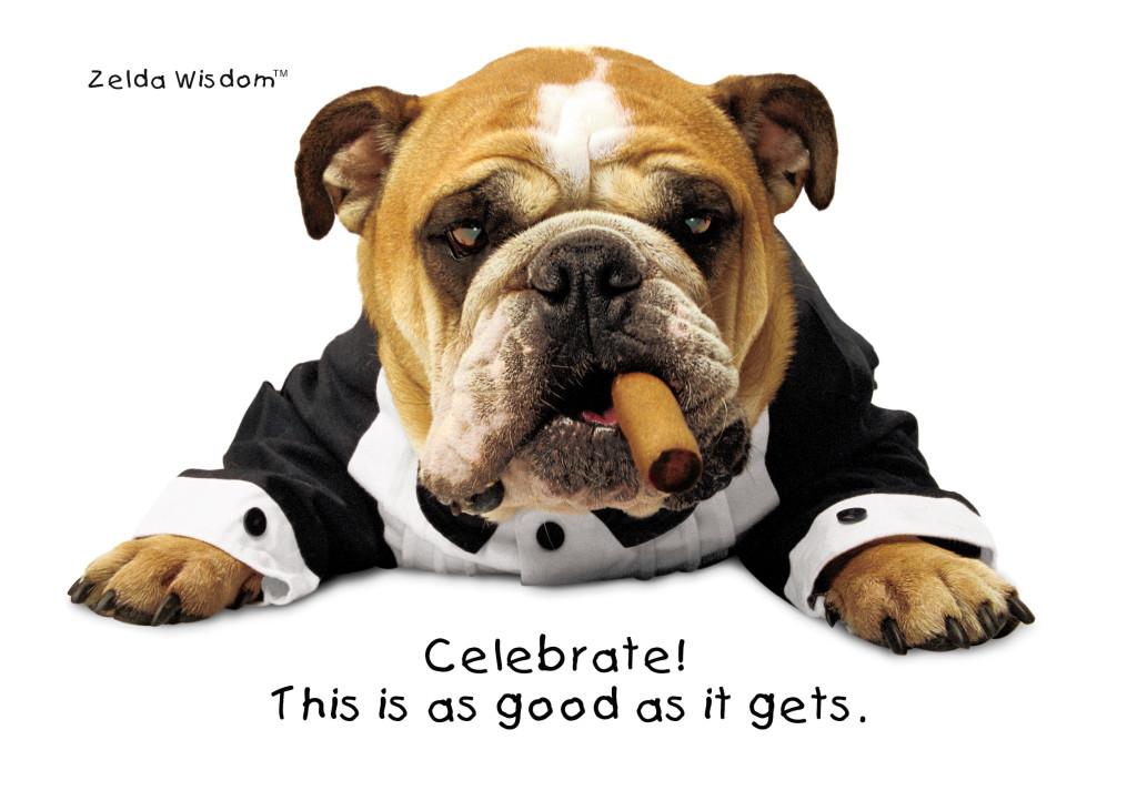Celebrate!(Blank inside)