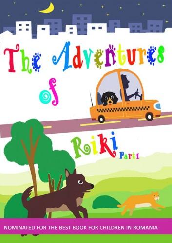 Catelul Riki isi publica aventurile, in engleza