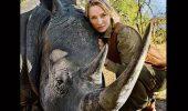 Uma Thurman, in lupta pentru salvarea rinocerilor!