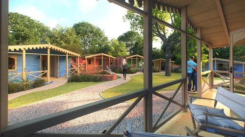 Noua oferta a gradinii zoologice din Londra: cabane pentru dormit in mijlocul leilor. Lista de rezervari a fost deschisa!