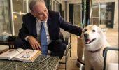 """Cainele premierului israelian a muscat cativa vizitatori """"politici"""""""