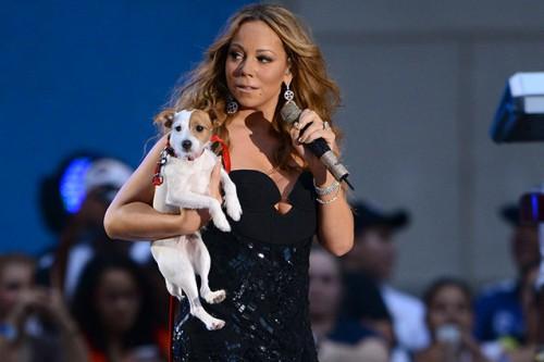 Cha Cha zboară la clasa business. Mariah Carey platește 2.000 USD pentru el