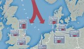 GIGANTI de 14 metri au esuat pe plajele Marii Britanii