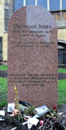 Greyfriars_Bobby_Headstone