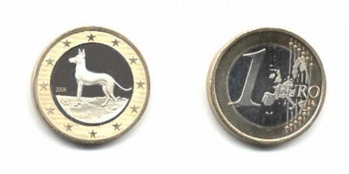 """Pe euro maltez apare """"cainele faraon"""""""