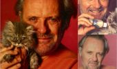 Anthony Hopkins si pisica sa!