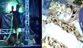 Ce SOARTA: O cantareata indoneziana a murit dupa ce a fost muscata pe scena de o cobra regala