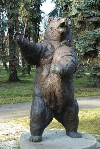 Monumentul Wojtek, din Parcul Jordana, Cracovia