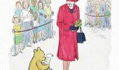 """""""Winnie-The-Pooh"""" serbeaza implinirea a 90 de ani alaturi de regina Elisabeta a II-a"""
