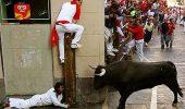 Cinci raniti, dintre care unul grav, in prima zi a curselor cu tauri de la Pamplona