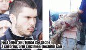 BESTIE trimisă în JDECATĂ după ce a ciopârțit un câine cu sabia