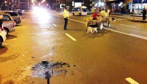Scene REVOLTĂTOARE! Ce a făcut un căruțaș băut cu calul, după un accident provocat de el