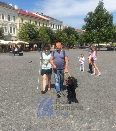 Prietenul văzător al unui nevazător, câinele ghid