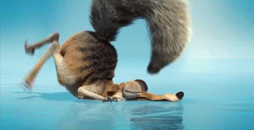 """Descoperire IMPRESIONANTĂ! Seamănă extrem de tare cu veveriţa din """"Ice Age"""" / VIDEO"""