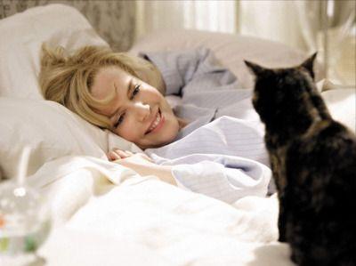 Nicole Kidman și una dintre pisicile ei
